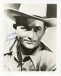 JIMMY WAKELY - AUTOGRAPHED SIGNED PHOTOGRAPH