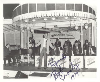 BOB (GEORGE ROBERT) CROSBY - AUTOGRAPHED SIGNED PHOTOGRAPH 1979