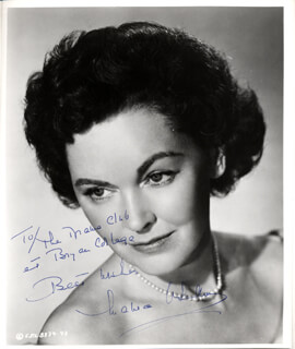 MAUREEN O'SULLIVAN - AUTOGRAPHED INSCRIBED PHOTOGRAPH