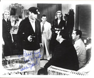 LAUREN BACALL - AUTOGRAPHED INSCRIBED PHOTOGRAPH