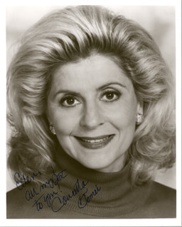 CONCETTA TOMEI - AUTOGRAPHED INSCRIBED PHOTOGRAPH