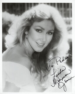 LINDA THOMPSON - AUTOGRAPHED INSCRIBED PHOTOGRAPH