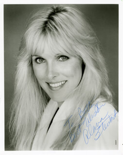 ALANA STEWART - AUTOGRAPHED SIGNED PHOTOGRAPH