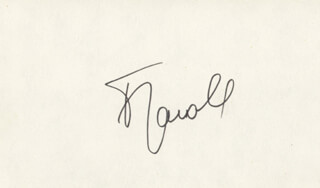Autographs: FRANCOIS JACOB - SIGNATURE(S)