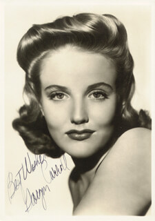 GEORGIA CARROLL - AUTOGRAPHED SIGNED PHOTOGRAPH