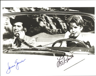 WHEELER DEALERS MOVIE CAST - AUTOGRAPHED SIGNED PHOTOGRAPH CO-SIGNED BY: LEE REMICK, JAMES GARNER