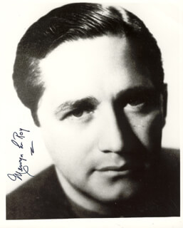 MERVYN LEROY - AUTOGRAPHED SIGNED PHOTOGRAPH