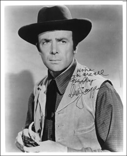 DEAN JAGGER - AUTOGRAPHED SIGNED PHOTOGRAPH
