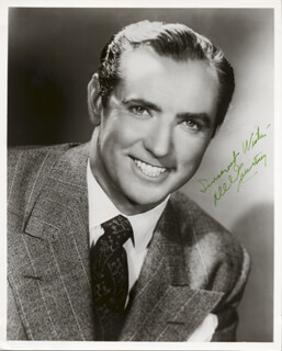DEL COURTNEY - AUTOGRAPHED SIGNED PHOTOGRAPH