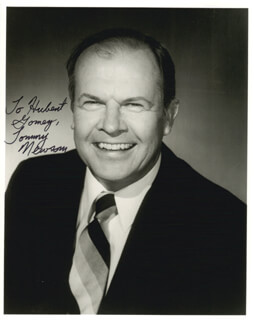 TOMMY NEWSOM - AUTOGRAPHED INSCRIBED PHOTOGRAPH