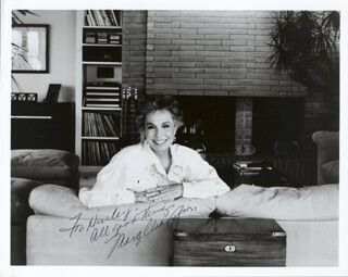 MARGE CHAMPION - AUTOGRAPHED INSCRIBED PHOTOGRAPH