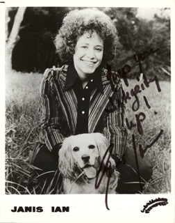 JANIS IAN - AUTOGRAPHED SIGNED PHOTOGRAPH