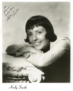 KEELY SMITH - AUTOGRAPHED INSCRIBED PHOTOGRAPH