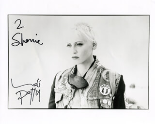 LORI PETTY - AUTOGRAPHED INSCRIBED PHOTOGRAPH