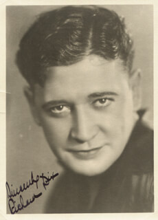 RICHARD DIX - AUTOGRAPHED SIGNED PHOTOGRAPH