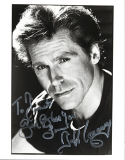 JEFF CONAWAY - AUTOGRAPHED INSCRIBED PHOTOGRAPH