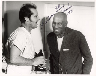 SCATMAN (BENJAMIN S.) CROTHERS - AUTOGRAPHED SIGNED PHOTOGRAPH 1981