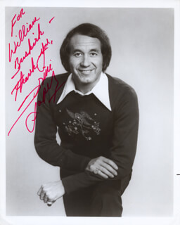 TRINI LOPEZ - AUTOGRAPHED INSCRIBED PHOTOGRAPH