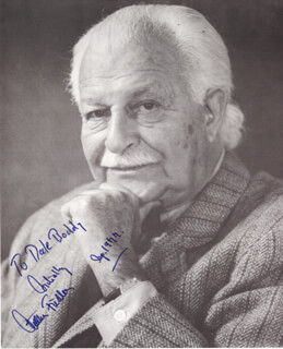 ARTHUR MR. POPS FIEDLER - AUTOGRAPHED INSCRIBED PHOTOGRAPH