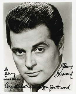 JOHNNY DESMOND - AUTOGRAPHED INSCRIBED PHOTOGRAPH