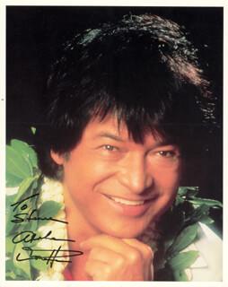 DON HO - AUTOGRAPHED INSCRIBED PHOTOGRAPH