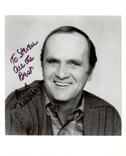BOB NEWHART - AUTOGRAPHED INSCRIBED PHOTOGRAPH