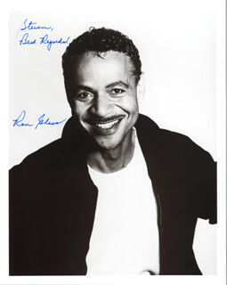 RON GLASS - AUTOGRAPHED INSCRIBED PHOTOGRAPH