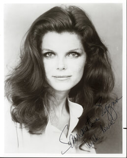 SAMANTHA EGGAR - AUTOGRAPHED SIGNED PHOTOGRAPH