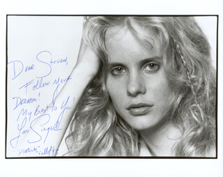 LORI SINGER - AUTOGRAPHED INSCRIBED PHOTOGRAPH CIRCA 1993