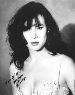 JENNIFER TILLY - AUTOGRAPHED SIGNED PHOTOGRAPH