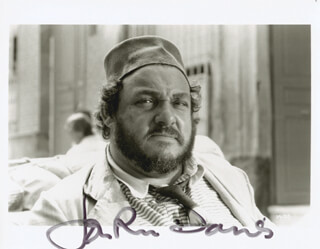 JOHN RHYS-DAVIES - AUTOGRAPHED SIGNED PHOTOGRAPH