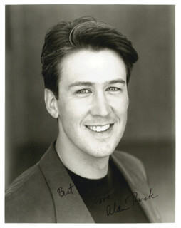 ALAN RUCK - AUTOGRAPHED SIGNED PHOTOGRAPH