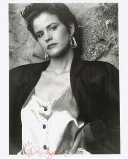 ALLY SHEEDY - AUTOGRAPHED SIGNED PHOTOGRAPH