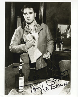 TONY LO BIANCO - AUTOGRAPHED SIGNED PHOTOGRAPH