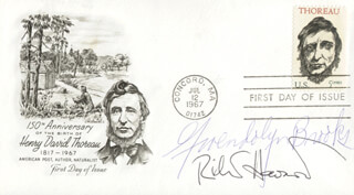 GWENDOLYN BROOKS - FIRST DAY COVER SIGNED CO-SIGNED BY: RICHARD HOWARD