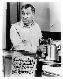 WILLIAM DEMAREST - AUTOGRAPHED SIGNED PHOTOGRAPH
