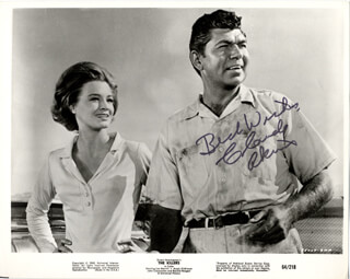 CLAUDE AKINS - PRINTED PHOTOGRAPH SIGNED IN INK