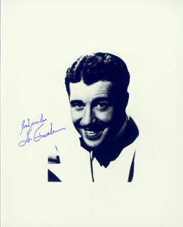 DON AMECHE - AUTOGRAPHED SIGNED PHOTOGRAPH