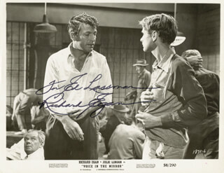 RICHARD EGAN - AUTOGRAPHED INSCRIBED PHOTOGRAPH