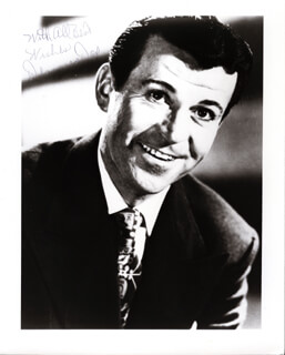 DENNIS DAY - AUTOGRAPHED SIGNED PHOTOGRAPH