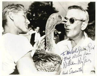 WILLIAM WYLER - AUTOGRAPHED INSCRIBED PHOTOGRAPH