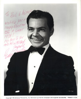 EDWARD EDDIE QUILLAN - AUTOGRAPHED INSCRIBED PHOTOGRAPH CIRCA 1977