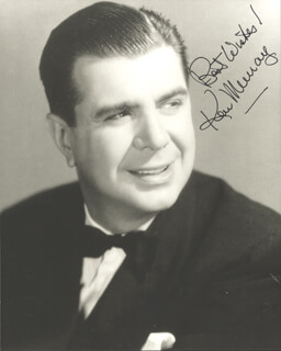 KEN MURRAY - AUTOGRAPHED SIGNED PHOTOGRAPH