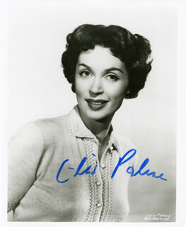 LILLI PALMER - AUTOGRAPHED SIGNED PHOTOGRAPH
