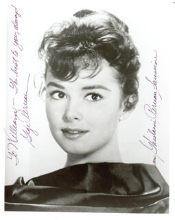 GIGI PERREAU - AUTOGRAPHED INSCRIBED PHOTOGRAPH
