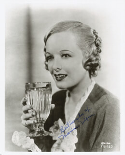 MARIAN NIXON - AUTOGRAPHED SIGNED PHOTOGRAPH