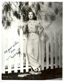 NELL O'DAY - AUTOGRAPHED SIGNED PHOTOGRAPH