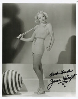 JUNE KNIGHT - AUTOGRAPHED SIGNED PHOTOGRAPH