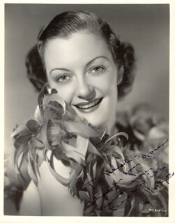 JOY HODGES - AUTOGRAPHED INSCRIBED PHOTOGRAPH