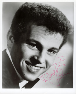 BOBBY VINTON - AUTOGRAPHED INSCRIBED PHOTOGRAPH